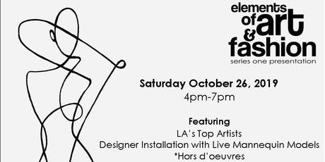 Elements of Art & Fashion - Series 1 tickets