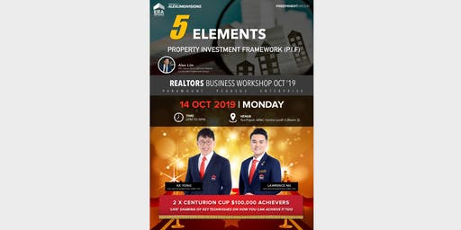 ALD Realtors Workshop  14 Oct - NEW P.I.F Sales Presentation Kit