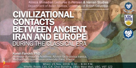 Civilizational Contacts Between Ancient Iran and Europa tickets
