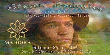 Steven Sedalia live music concert tickets