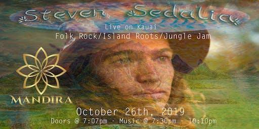 Steven Sedalia live music concert