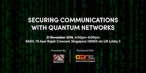Securing Communications with Quantum Networks