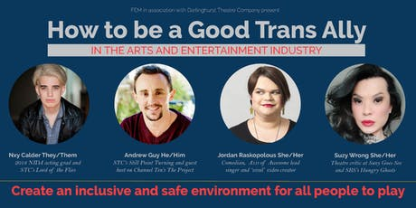How to be a Good Trans Ally tickets