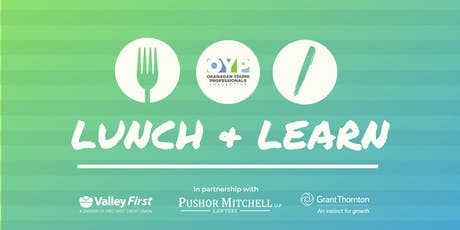 OYP Lunch + Learn: Fall Series  tickets