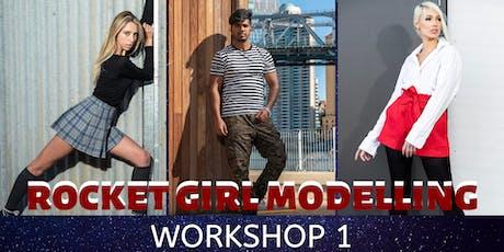 Rocket Girl Modelling Workshop 1 tickets