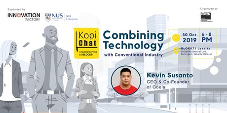 Entrepreneurship Journey: Combining Technology With Conventional Industry tickets