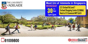 Meet Australia - Group of 8 :- Uni of Adelaide in...