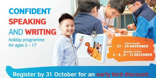 British Council Kids Holiday Programme: Confident Speaking and Writing (PJ)