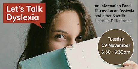 Let's Talk Dyslexia tickets