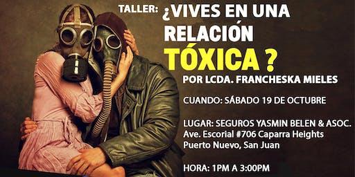 ¿Vives en una relación tóxica?