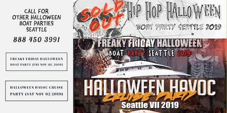 Hip Hop Halloween Boat Party Seattle 2019 tickets