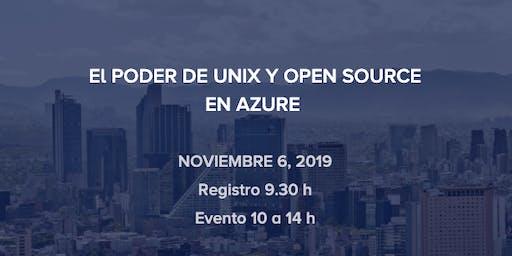 El PODER DE UNIX Y OPEN SOURCE EN AZURE