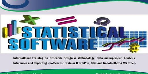 Training: Research design, data management, Analysis (Stata/SPSS)28/10-8/11