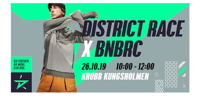 BNBRC x District Race Stockholm