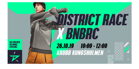 BNBRC x District Race Stockholm tickets