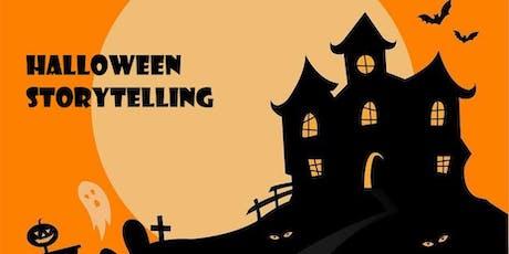 Halloween Storytelling!  Cuentacuentos de Halloween en Inglés entradas