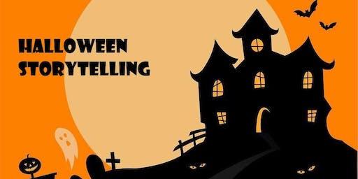 Halloween Storytelling!  Cuentacuentos de Halloween en Inglés