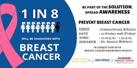 Breast Cancer Awareness Talk tickets