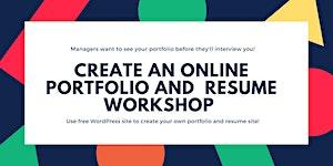 Create an Online Portfolio and Resume Using WordPress W...