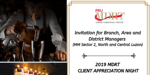 2019 MDRT Client Appreciation Night Invitation for Leaders