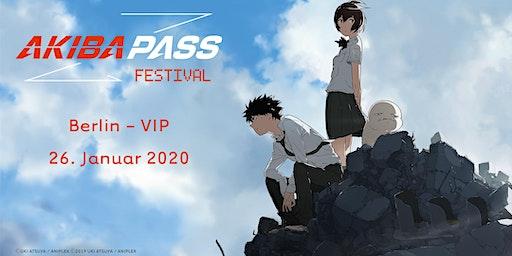 AKIBA PASS FESTIVAL 2020 - Berlin - VIP