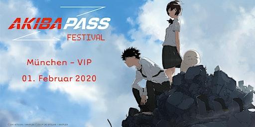 AKIBA PASS FESTIVAL 2020 - München - VIP