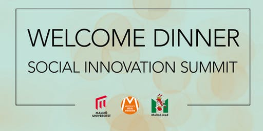 Welcome dinner Social Innovation Summit 2019