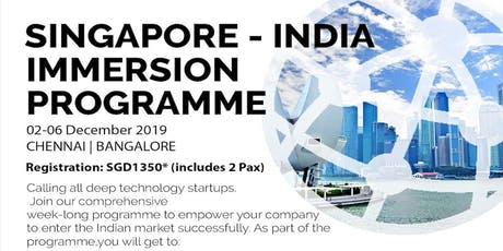 Singapore - India Immersion Program tickets