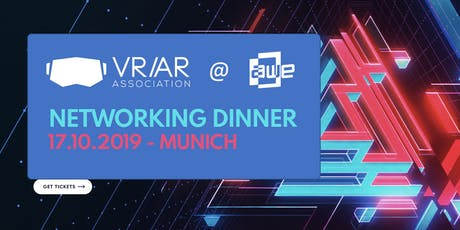 VRARA Germany Networking Dinner @ AWE 2019 tickets