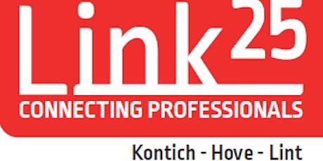 Link 25 event woensdag 20 november tickets