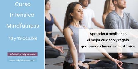 Curso Intensivo Mindfulness Madrid entradas