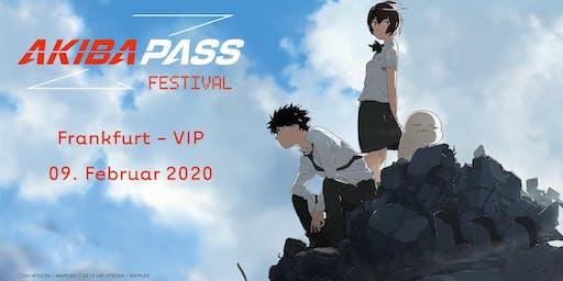 AKIBA PASS FESTIVAL 2020 - Frankfurt - VIP