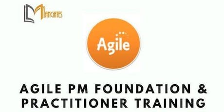 Agile Project Management Foundation & Practitioner (AgilePM®) 5 Days Virtual Live Training in The Hague tickets