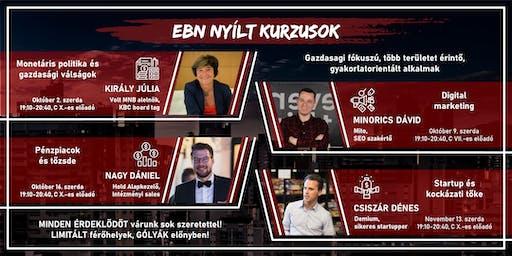 EVK Business Nights S01 E04 - Nagy Dániel; Pénzpiacok & Tőzsde