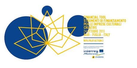 Accesso Al Credito per le Imprese Culturali e Creative biglietti