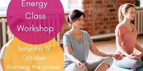 Energy Class workshop tickets
