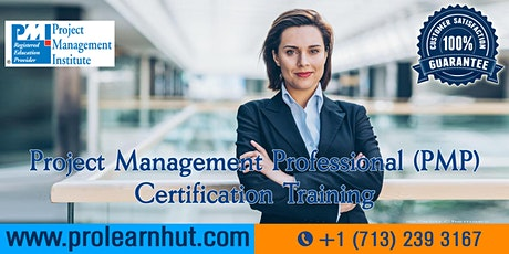 PMP Certification | Project Management Certification| PMP Training in Fontana, CA | ProLearnHut tickets