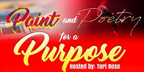 Paint and Poetry for a Purpose tickets