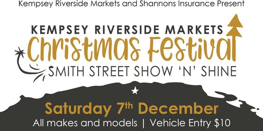 Kempsey Riverside Markets Christmas Festival Smith Street Show'n'Shine