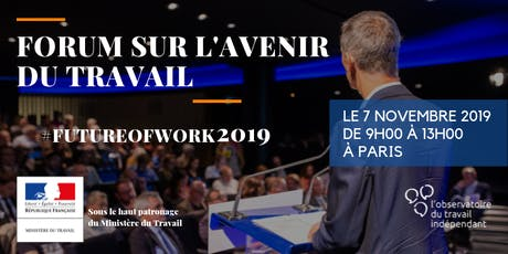 Save the date – Forum sur l'avenir du travail billets