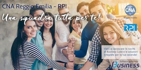 CNA Reggio Emilia - RPI: Una squadra tutta per te! biglietti