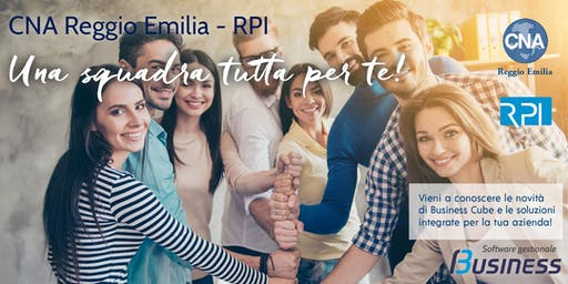 CNA Reggio Emilia - RPI: Una squadra tutta per te!