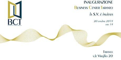 Inaugurazione Business Center Taranto biglietti