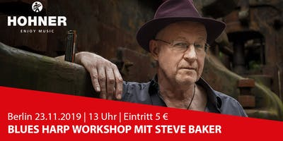 Berlin | Steve Baker Blues Harp Workshop