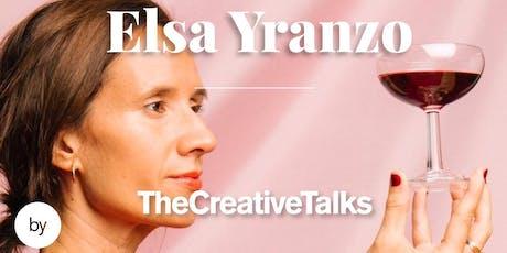 TheCreativeTalks con Elsa Yranzo entradas
