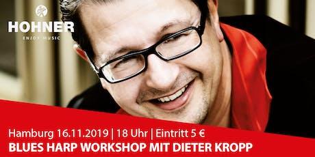 Hamburg | Dieter Kropp Blues Harp Workshop Tickets