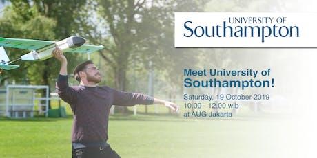 Meet University of Southampton! tickets