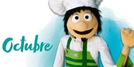 Octubre en la Ludoteca Chef Pepo entradas