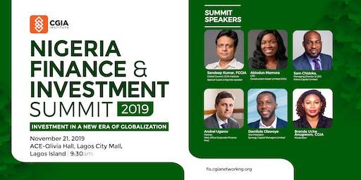 Nigeria Finance & Investment Summit 2019