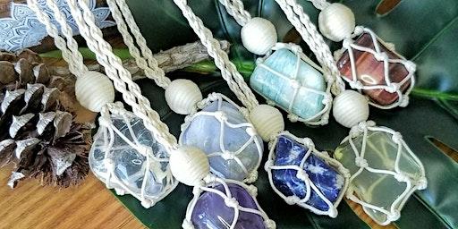 Macrame Crystals